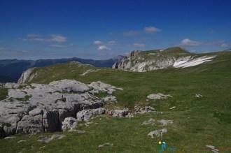 Sur le plateau – Jour 2 – Tour du Marguareis – Juin 2016 – Trek, Rando, Italie