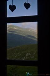 De la fenêtre du refuge – Jour 2 – Tour du Marguareis – Juin 2016 – Trek, Rando, Italie