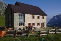 Départ du Rifugio Mondovi – Jour 3 – Tour du Marguareis – Juin 2016 – Trek, Rando, Italie