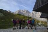 Le groupe sur le départ – Jour 4 – Tour du Marguareis – Juin 2016 – Trek, Rando, Italie
