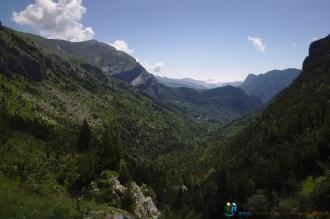L'arrivée, tout au fond de la vallée – Jour 5 – Tour du Marguareis – Juin 2016 – Trek, Rando, Italie