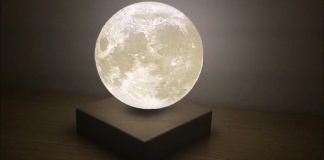 Levitating Moon Light by Coocepts