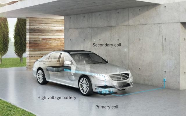 Mercedes-benz wireless charger