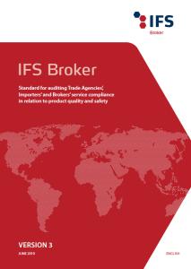 IFS Broker Version 3