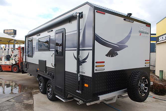 Trail X-Perience Caravan 20ft 8in Ex-Demo Clearance full