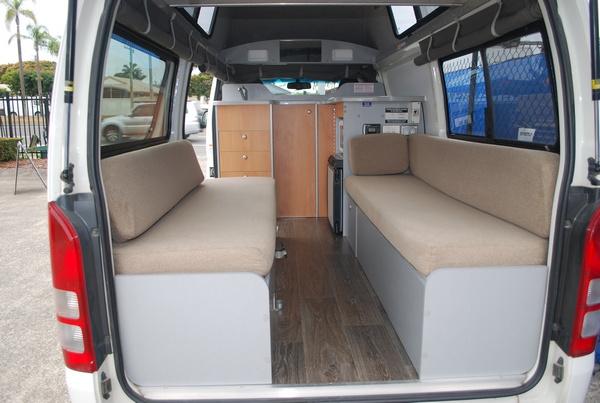 2017 Toyota HiAce Campervan full