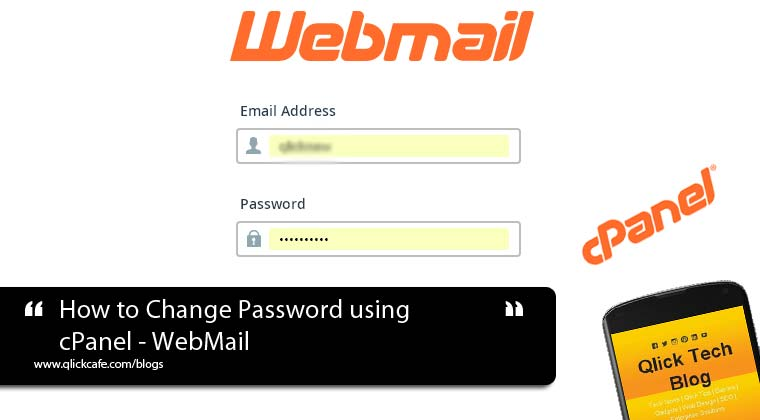 How to Change Password using cPanel – WebMail