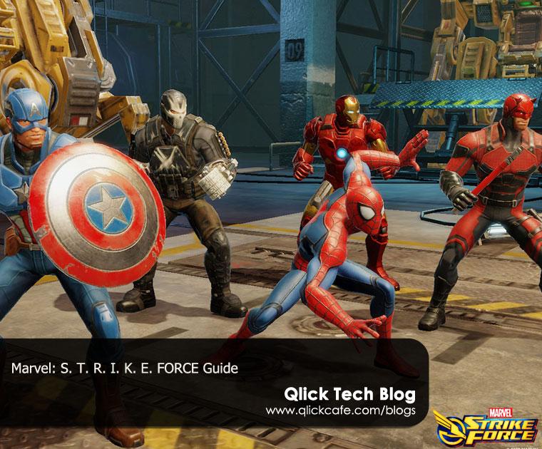 Marvel Strike Force User's Guide