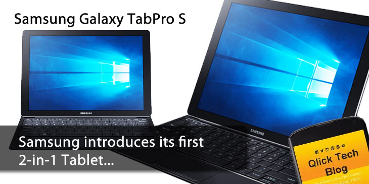 Samsung Galaxy TabPro-S Review