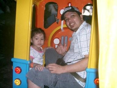 Dad, na flat po yata ang Train!