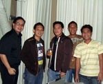 Web Designer, Blogger, SEO Specialist, IT Consultant - 2008 Christmas Party with my Staff.