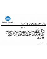 Konica-Minolta bizhub C224e C284e C364e Service Manual