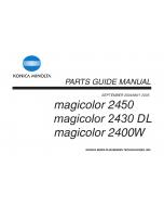 Konica-Minolta magicolor 2400W 2430DL 2450 FIELD-SERVICE