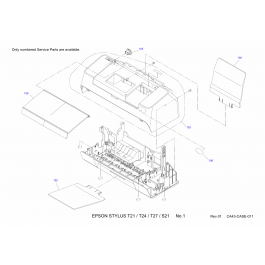 EPSON Stylus T21 T24 T27 S21 Parts Manual