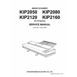 KIP 2050 2080 2120 2160 Image-Scanner K-75 Service Manual