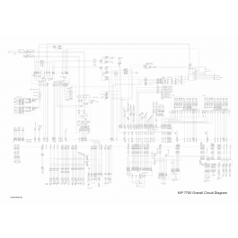 KIP 7700 Circuit Diagram
