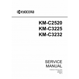 KYOCERA ColorCopier KM-C2520 C3225 C3232 Parts and Service
