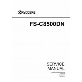 KYOCERA ColorLaserPrinter FS-C8500DN Service Manual