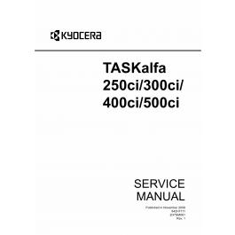 KYOCERA ColorMFP TASKalfa-250ci 300ci 400ci 500ci Service