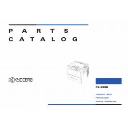 KYOCERA LaserPrinter FS-6900 Parts Manual