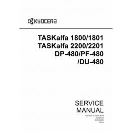 KYOCERA MFP TASKalfa-1800 1801 2200 2201 Service Manual