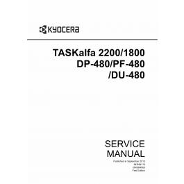 KYOCERA MFP TASKalfa-1800 2200 DP-480 DU-480 PF-480