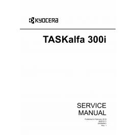KYOCERA MFP TASKalfa-300i Service Manual