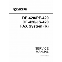 KYOCERA Options DP-420 PF-420 DF-420 JS-420 Fax-System-R