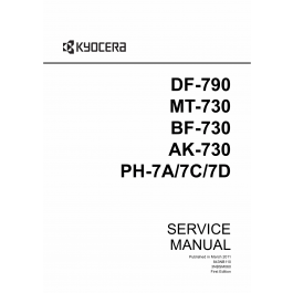 KYOCERA Options Document-Feeder DF-790 BF-730 MT-730 AK