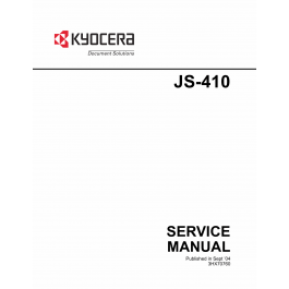 KYOCERA Options Job-Separator-JS-410 Service Manual