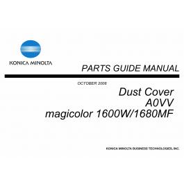 Konica-Minolta magicolor 1600W 1680MF Dust-Cover A0VV Unit
