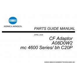 Konica-Minolta magicolor 4690 C20P CF-Adaptor A08D0W2