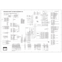 RICOH Aficio MP-C2800 C3300 D023 D025 Circuit Diagram