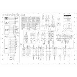 RICOH Aficio SP-3500DF 3510SF M118 M119 Circuit Diagram