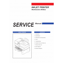 Samsung InkJet-Printer WorkCentre-XK50cx Parts and Service
