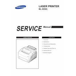 Samsung Laser-Printer ML-5050G Parts and Service