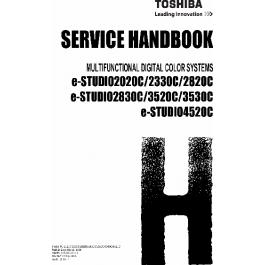TOSHIBA e-STUDIO 2020c 2320c 2820c 2830c 3520c 3530c 4520c