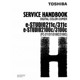 TOSHIBA e-STUDIO 211C 311C 2100C 3100C FC211 311 2100C
