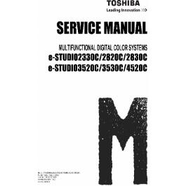 TOSHIBA e-STUDIO 2330C 2820C 2830C 3520C 3530C 4520C