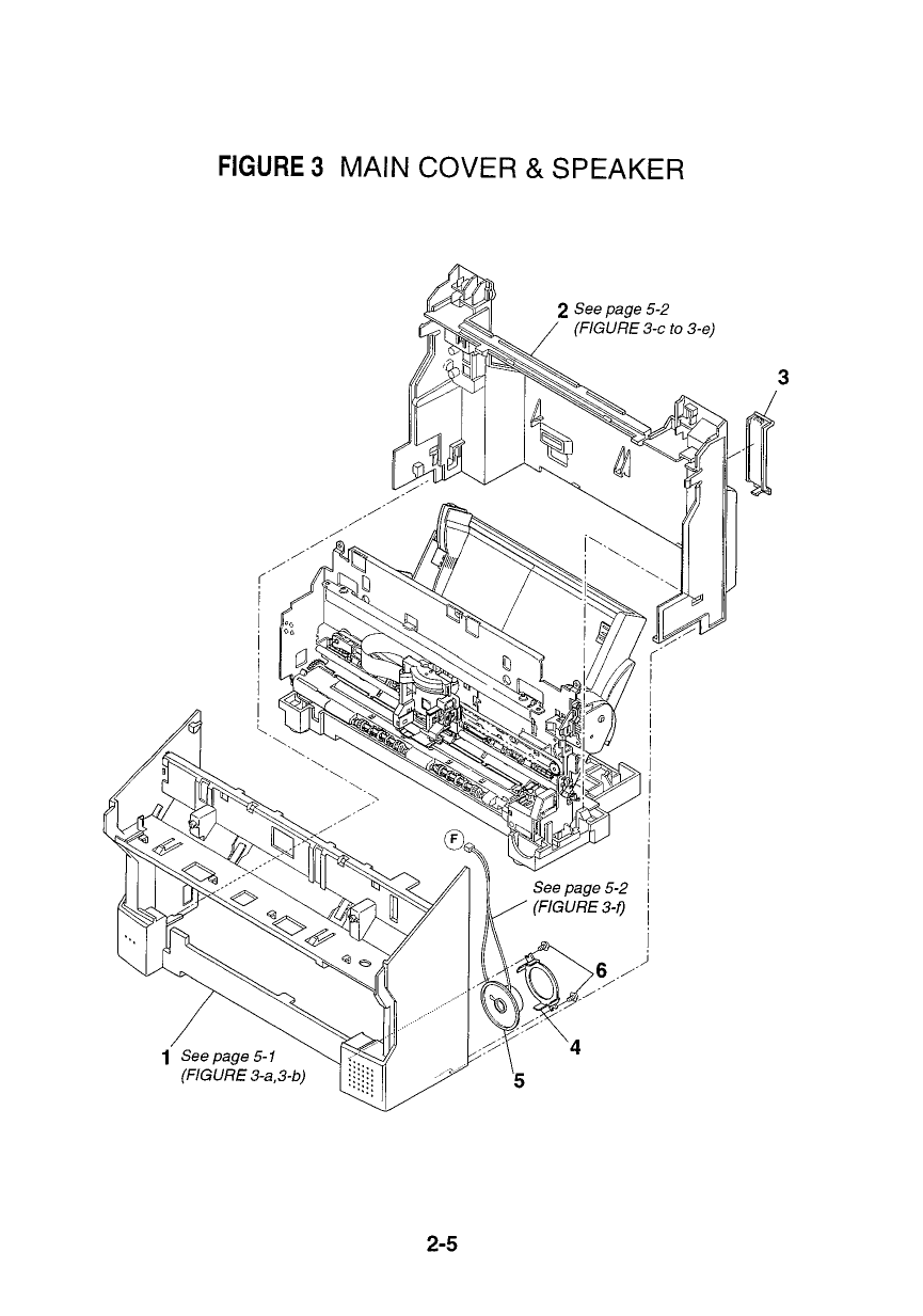 Canon FAX B150 Parts Catalog Manual