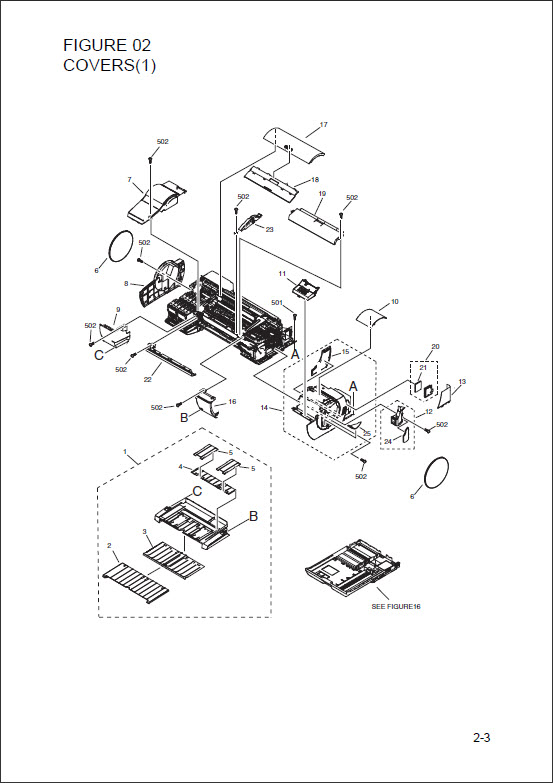 Canon iPF 5000 iPF 500 PARTS CATALOG