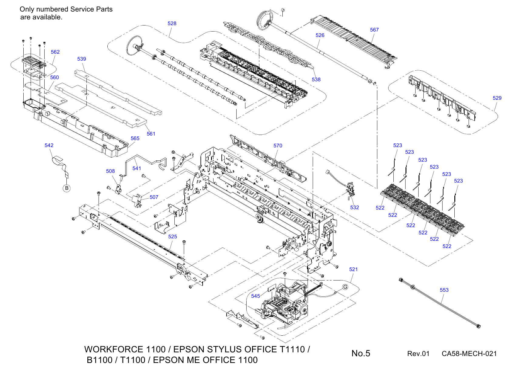 Hp Designjet T1100 Service Manual