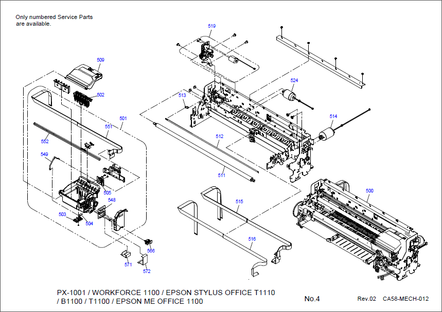 epson stylus pro parts diagram epson printer parts bing images