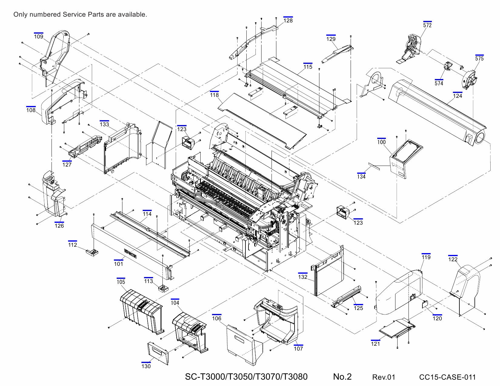 Hp 3070 Manual Auto Electrical Wiring Diagram Olds Aurora Hvac Epson Surecolor T3000 T3050 T3070 T3080 Parts