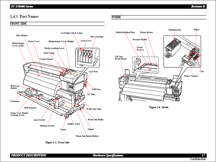 Epson SureColor S30600 S30610 S30670 Service Manual