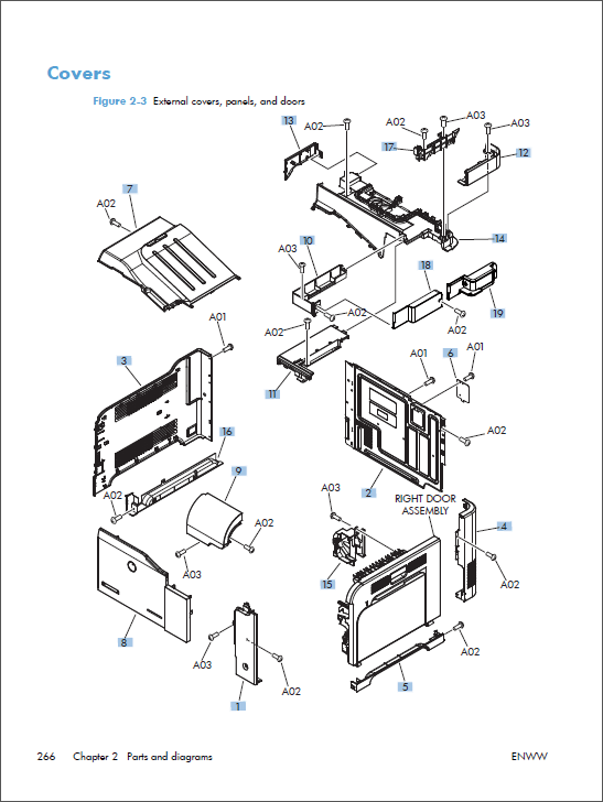 HP Color LaserJet M575 MFP Service Repair Manual