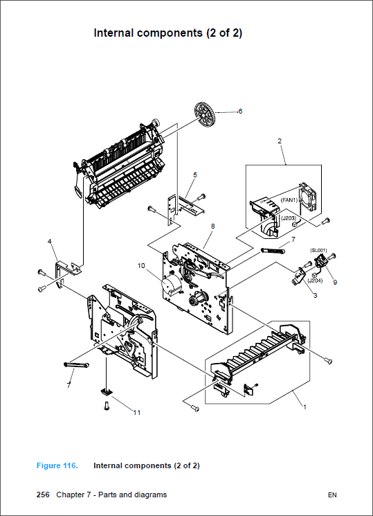 HP LaserJet 3300 MFP Service Manual