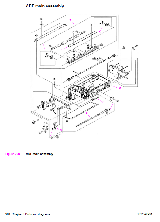 hp laserjet 3030 all in one printer service manual