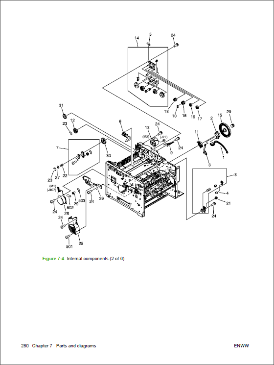 HP LaserJet M3027 M3035 MFP Service Manual