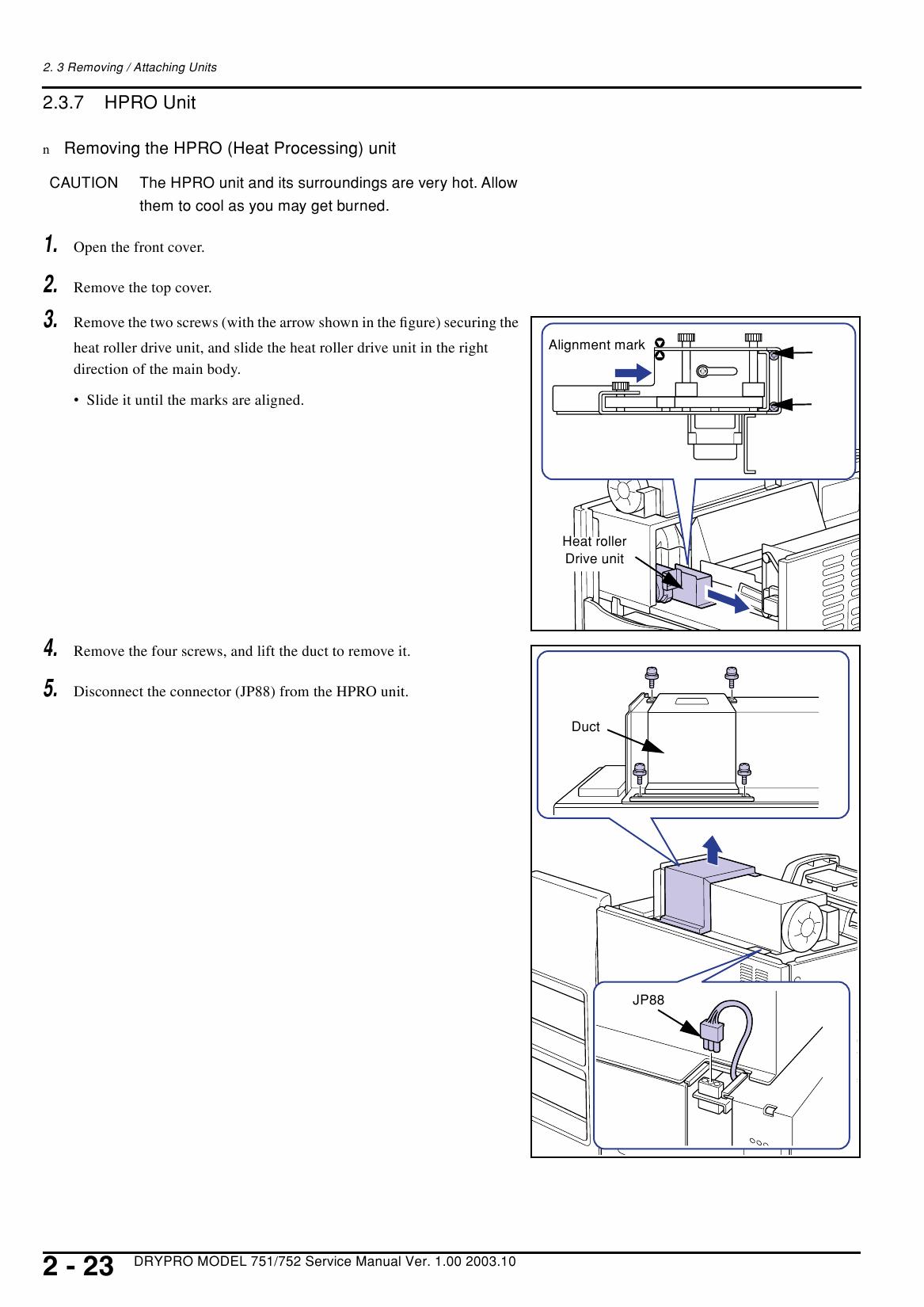 Konica-Minolta MINOLTA DRYPRO 751 752 Service Manual